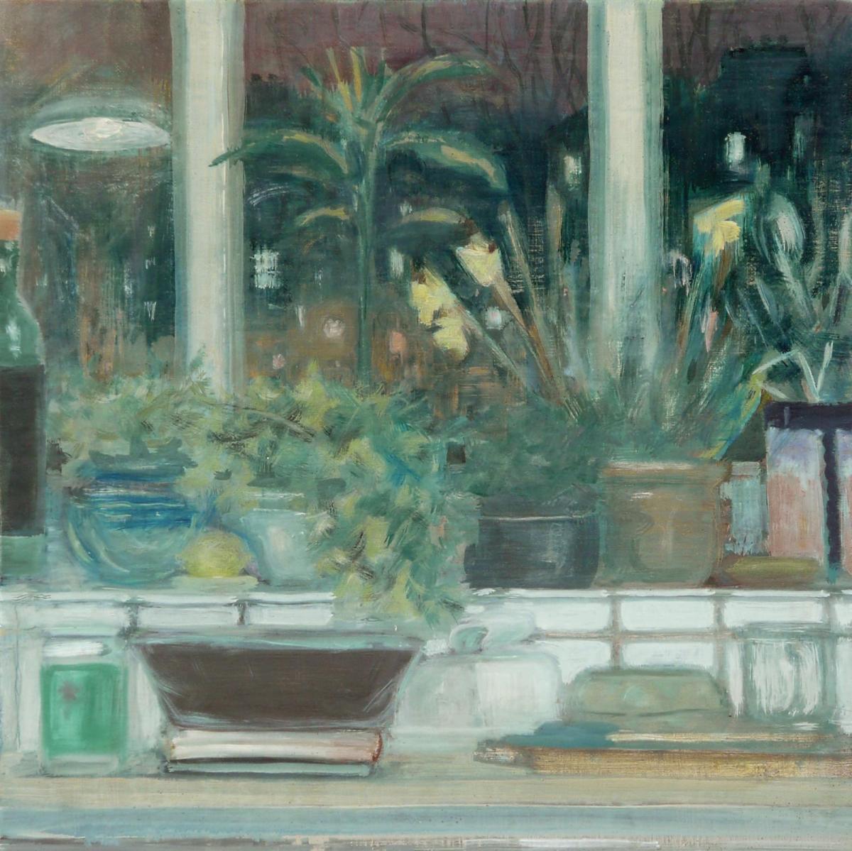 oil painting by Rebecca Payn, Kitchen Window (ii)