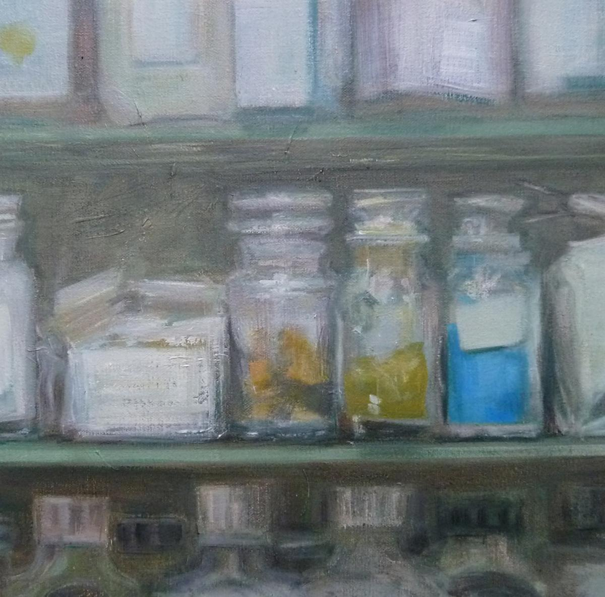oil painting by Rebecca Payn, Cerulian