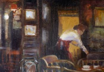 'The Pheasant' oil by R Payn
