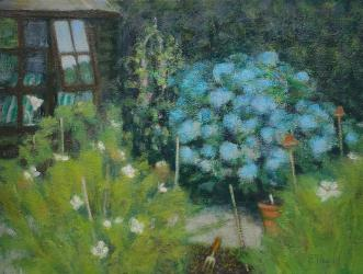 'Summer House' oil, R Payn